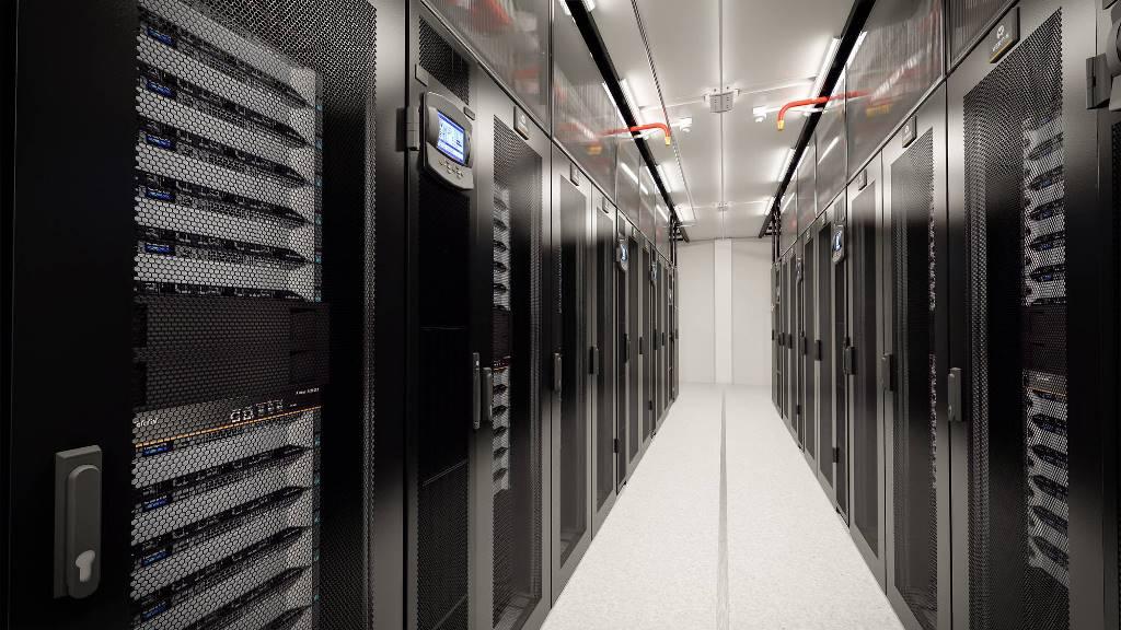 Modular pre fabricated data centre by MMR dubai