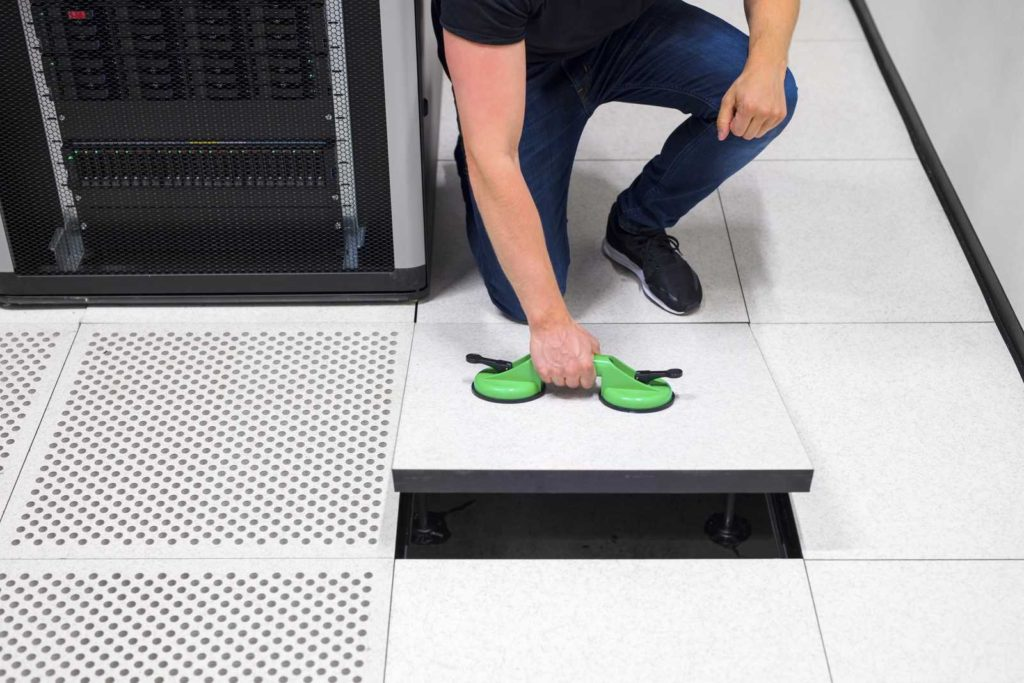 data centre flooring by MMR in Saudi Arabia